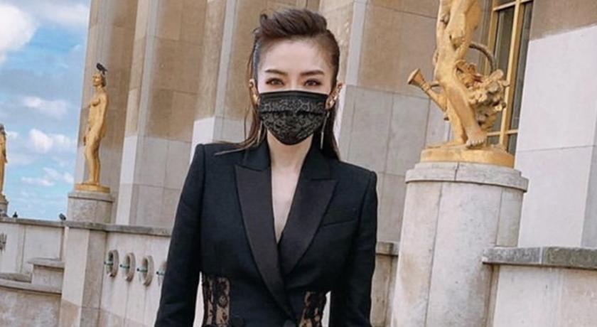 謝金燕設計「黑色蕾絲口罩」美炸!狂粉敲碗:解封後立刻去買