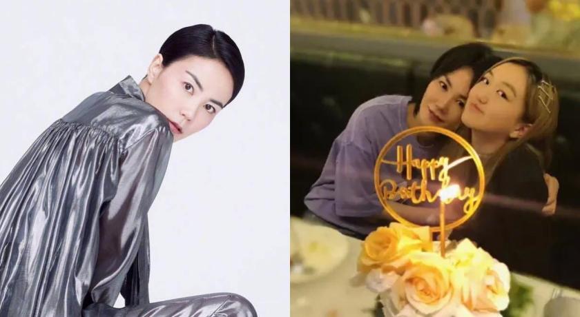 王菲歡慶李嫣14歲生日!「年過半百現況」網驚嘆:越來越像姐妹
