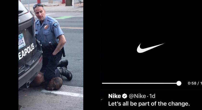 表態聲援非裔男!NIKE 改寫廣告詞感動百萬網友