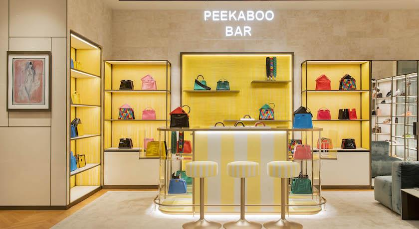 十年經典隨你變換!Fendi「Peekaboo Bar」快閃巡迴登台