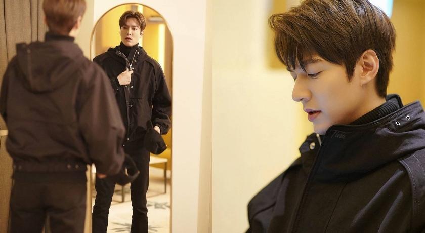 李敏鎬全新劇照帥度破表!被評為「最適合穿黑色」的白馬王子