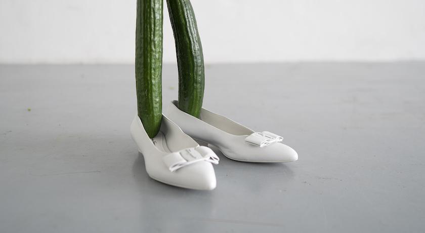 藝術家非傳統雕塑秀《一分鐘台北》!小黃瓜變「蘿蔔腿」超幽默!
