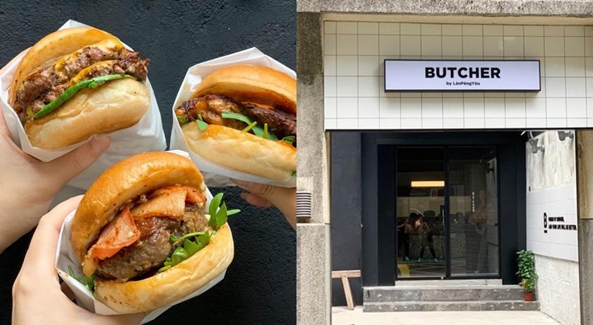 台北信義新開「漢堡餐酒館」爆紅!鹹甜牛奶糖漢堡、菜刀門把超吸睛