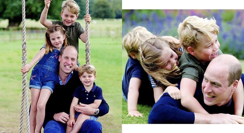 英國皇室 IG 又曝萌娃新照!粉絲驚呼喬治、路易兄弟根本雙胞胎