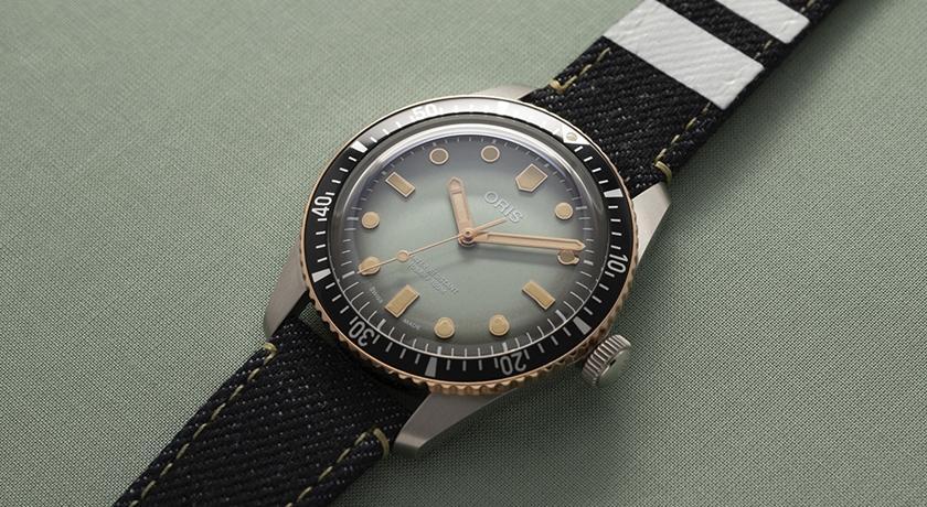 牛仔布與青銅放一起帥翻了!「丹寧錶帶手錶」成史上最酷設計