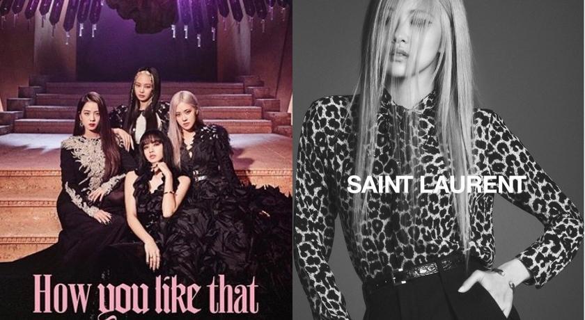 再奪「人間」稱號!BLACKPINK的「她」穿透膚蕾絲登Saint Laurent全球廣告
