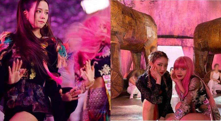 BLACKPINK 回歸「改良韓服」掀議論!韓國網友氣炸:傳統是這樣玩的嗎?