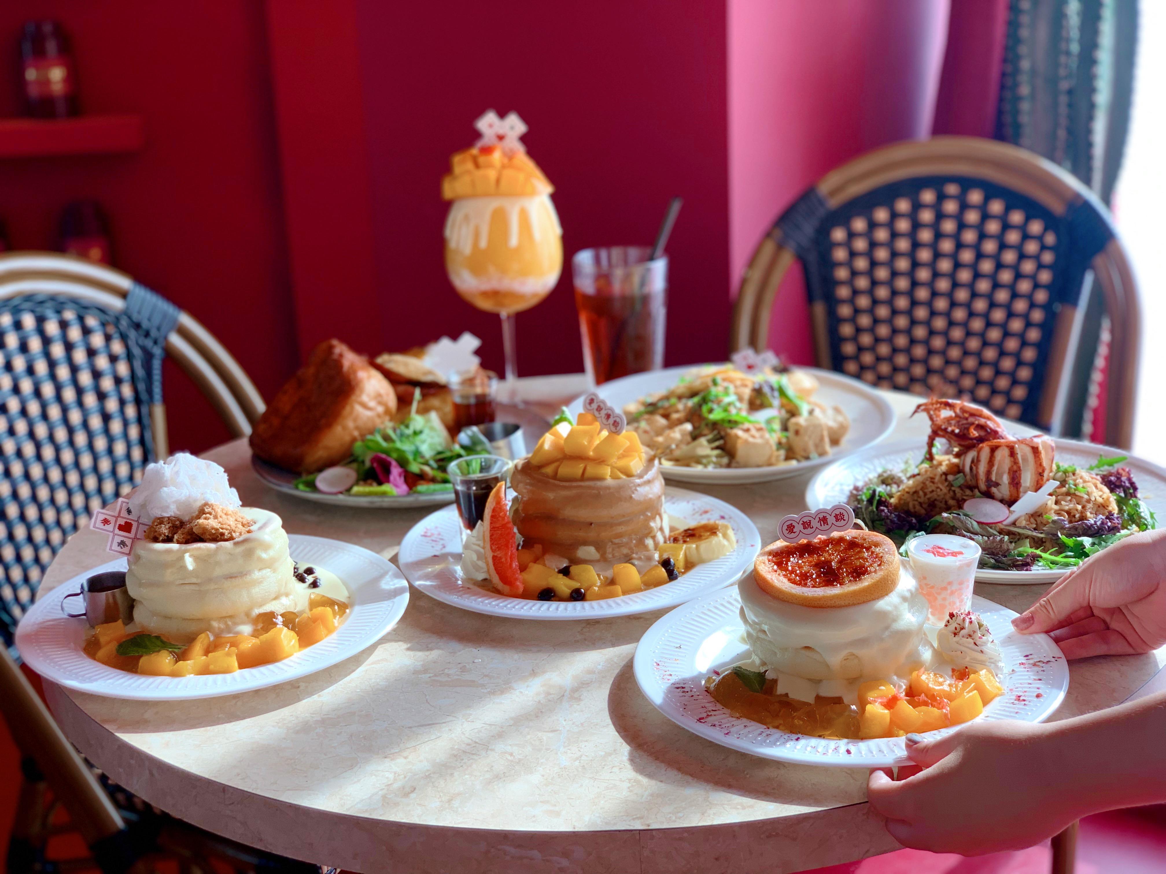 「楊枝甘露、芒果奶茶」變身爆漿舒芙蕾!台北咖啡廳新推浮誇系港點