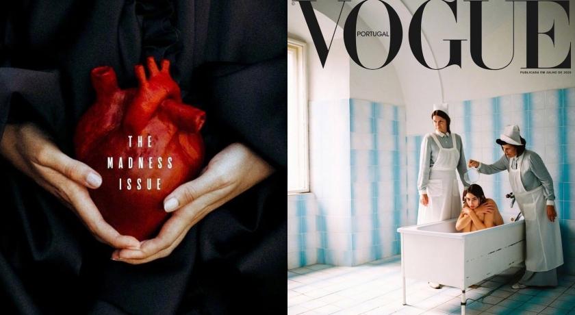 模特兒裸坐浴缸「惹眾怒」!葡萄牙版《VOGUE》封面慘遭下架