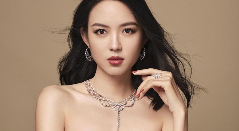 「世界小姐」張梓琳性感復出!平口禮服透視如鑽石的白皙美肌