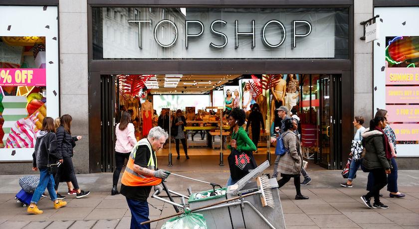 不玩了!TOPSHOP關閉中環最後分店退出香港市場