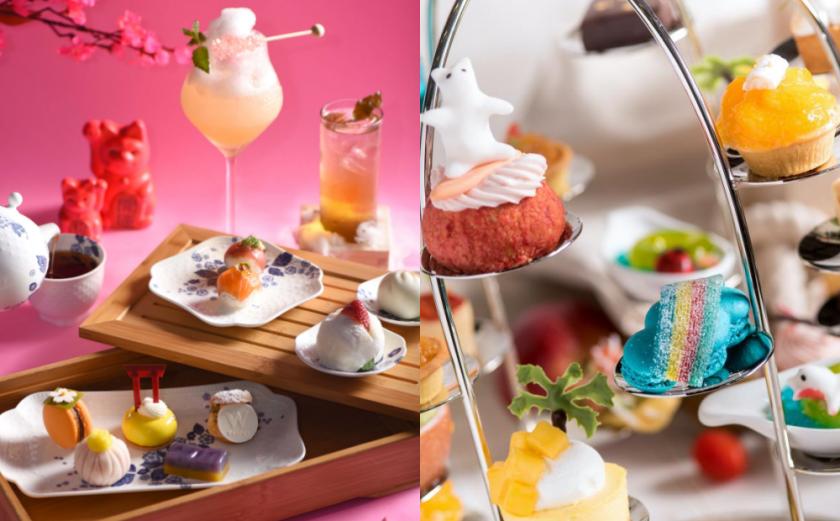 日式和菓子、繽紛彩虹冰!台北3間「絕美飯店下午茶」先預約