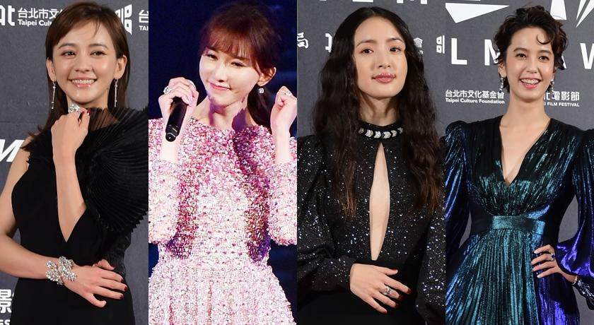 疫情爆發後全球「首場紅毯」!台北電影節眾女星高價行頭搏版面