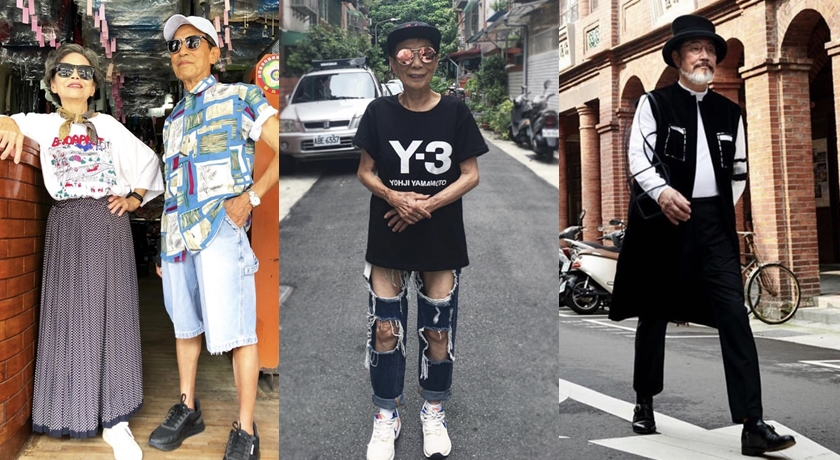 台灣「高齡網紅」正火!活到老、時髦到老的氣勢完勝歐美潮人