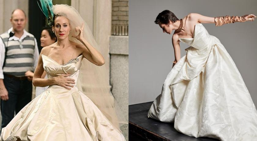 《慾望城市》同款婚紗你也可以?Vivienne Westwood推婚紗訂製服務