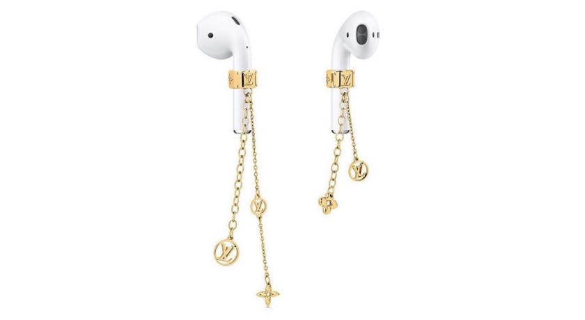 AirPods也要「戴耳環」!網瘋傳的LV耳機飾品價格曝光