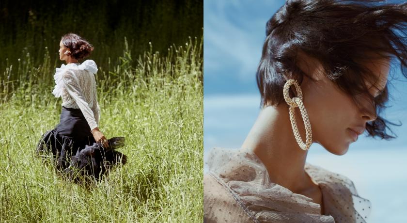 耍浪漫不用花大錢!H&M聯手設計師打造「太陽花」女神裝