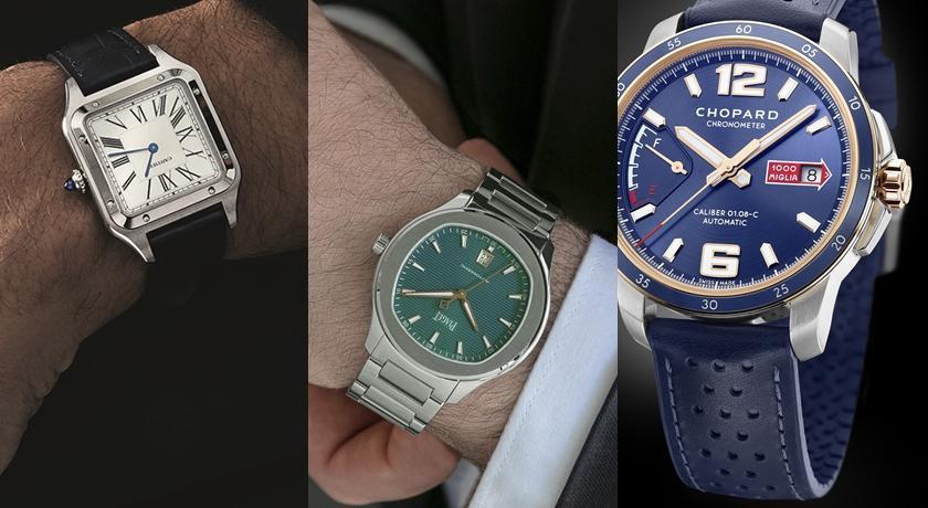 其實每個老爸都有點「好色」!原來手錶的顏色藏著性格秘密