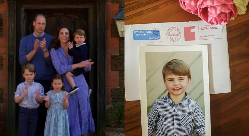 英皇室送禮曝光路易小王子新照!粉絲驚嘆:根本是「複製貼上」⋯