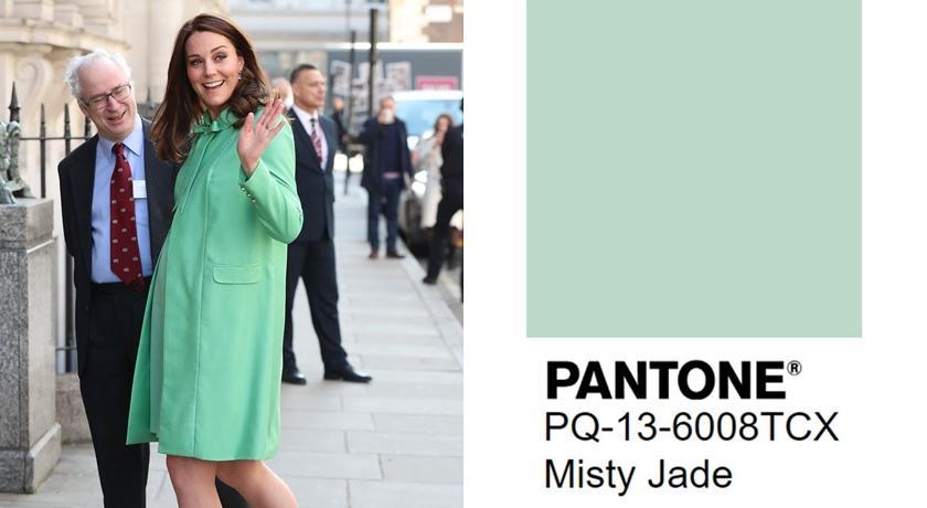 Pantone 2020 秋冬流行色曝光!「朦朧玉色」連凱特王妃也超愛