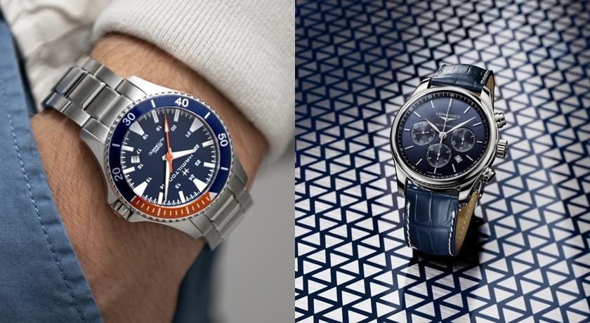 低頭看時間彷彿望向碧海藍天!盤點夏天最流行的「藍面」手錶