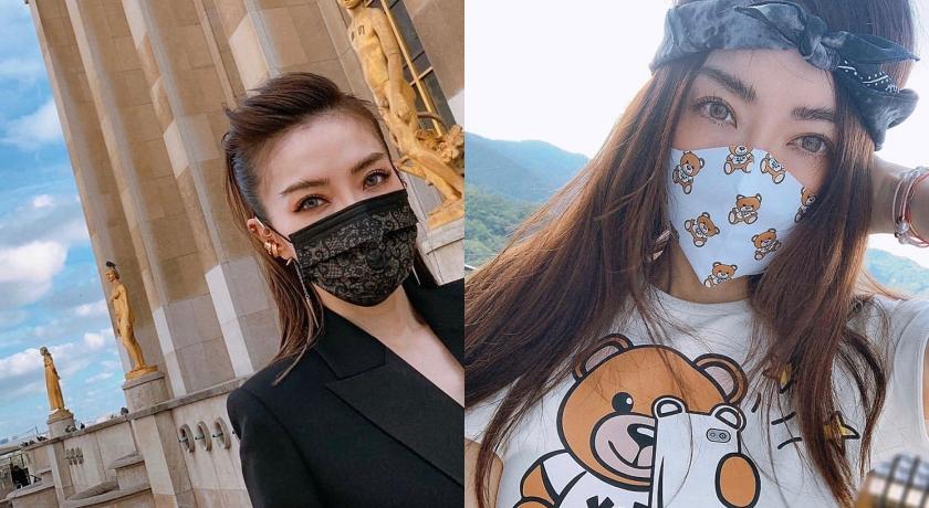個人聯名蕾絲口罩喊天價!謝金燕曬新口罩竟「不用排隊」?