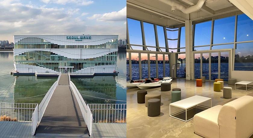 韓國最美「水上星巴克」要開了!全白建築+大片落地窗賞漢江美景