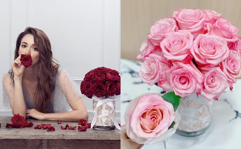 七夕情人節就送「玫瑰花界的愛馬仕」!雙心花形、20朵鮮花表愛意