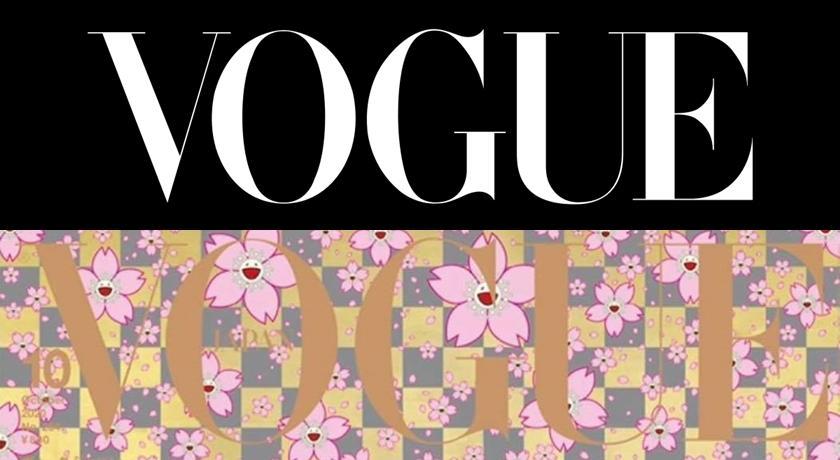 史上最可愛封面!村上隆「微笑櫻花」登日本《VOGUE》網全讚爆