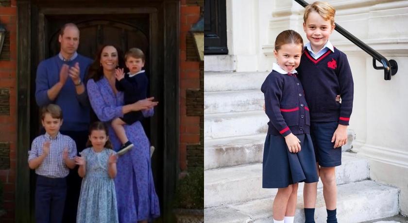 凱特王妃其實是「虎媽」?曝喬治超羨慕夏綠蒂這件事⋯