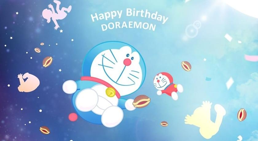 哆啦A夢生日快樂!國民洗面乳、經典眉彩膏「哆啦」超萌出沒快衝一波