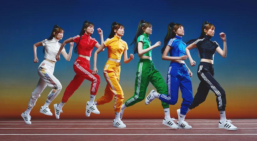 專屬女孩!adidas Originals聯名打造「超繽紛」運動服