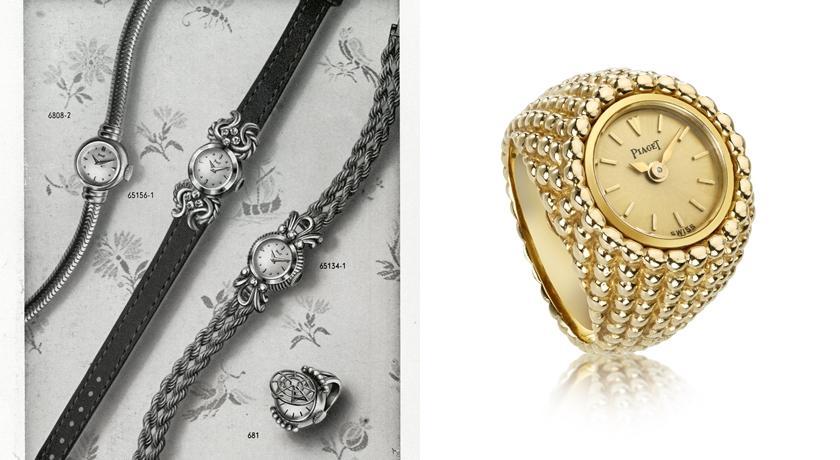 到底誰規定錶一定要戴在手腕上!袖釦錶、戒指錶超顛覆想像