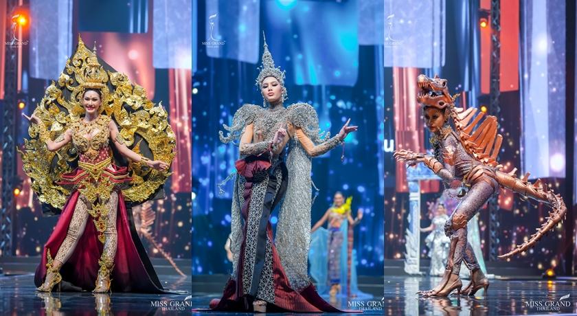 泰國選美浮誇打扮把四面佛、水上市集都搬來了!背後文化意涵更強大