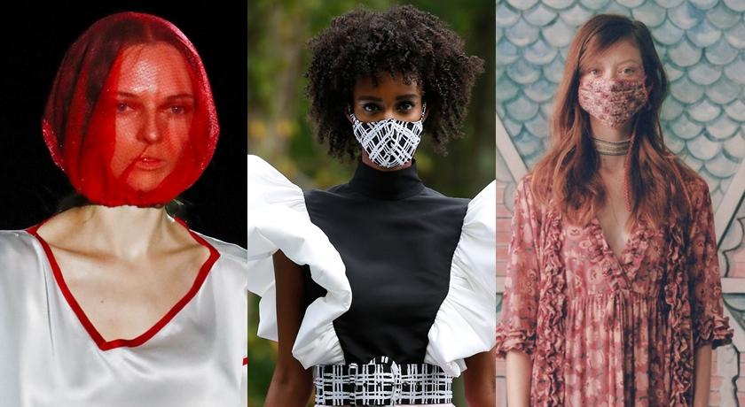 武漢肺炎打亂全世界!連時裝週模特兒都戴上「造型口罩」走秀