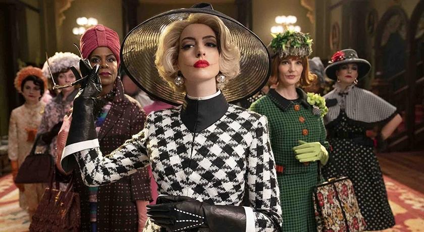 (有片)安海瑟薇新片《女巫們》機歪樣很眼熟?竟是神複製 Prada 惡魔的她!
