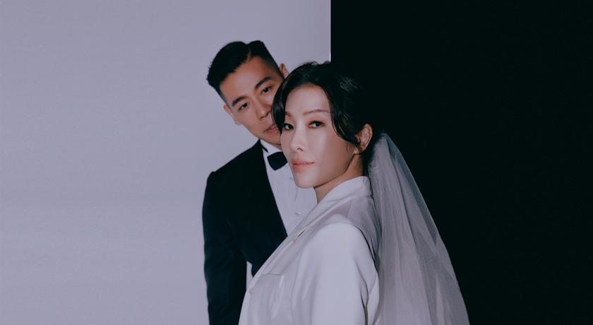 41 歲 KIMIKO 婚紗照曝光!超特別「西裝白紗」網狂讚有夠酷