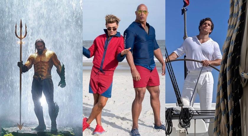 美國隊長、水行俠穿得還比較多?「他」在電影裡一半畫面都沒穿!