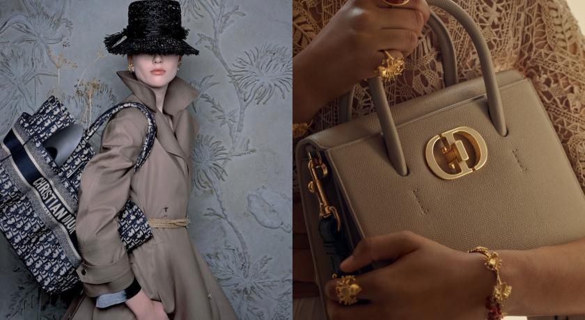Dior新托特包優雅升級!經典「CD」Logo還有妙用