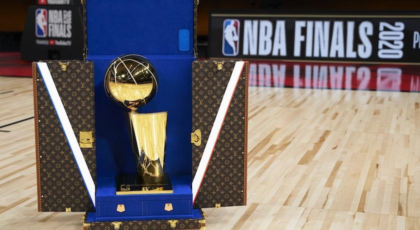 LV旅行箱首登NBA總決賽!連三年聯名合作接力曝光