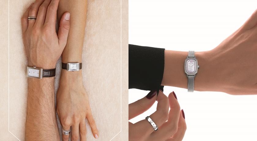 手錶竟能讓氣質加分!一戴上「長方形錶款」連手腕都變纖細了