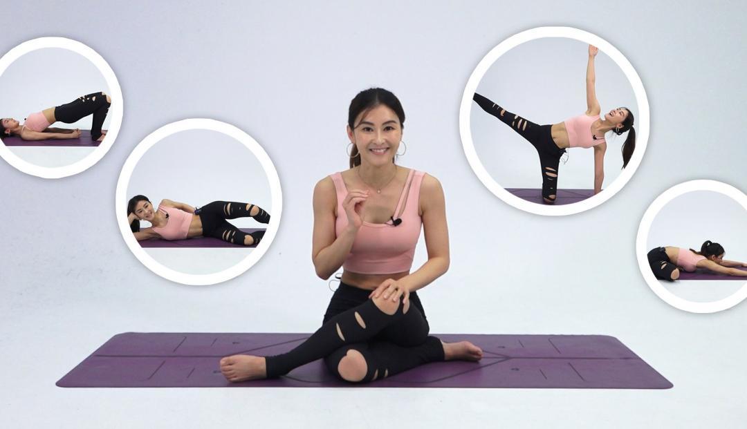 梨形身材Bye!瑜伽女神5招對抗「假胯寬」告別大腿根部肉肉