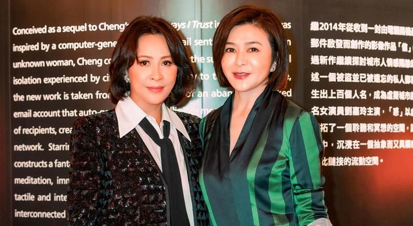 劉嘉玲、關之琳「世紀破冰」同框!香江第一美人狠打臉整形失敗謠言