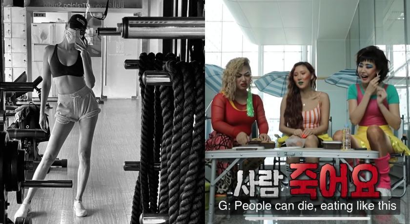 難怪胖不起來!韓國林志玲、華莎獨特「三明治吃法」同台女星好傻眼