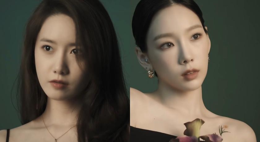 少女時代再合體!潤娥「火辣深V」比美太妍雪白直角肩
