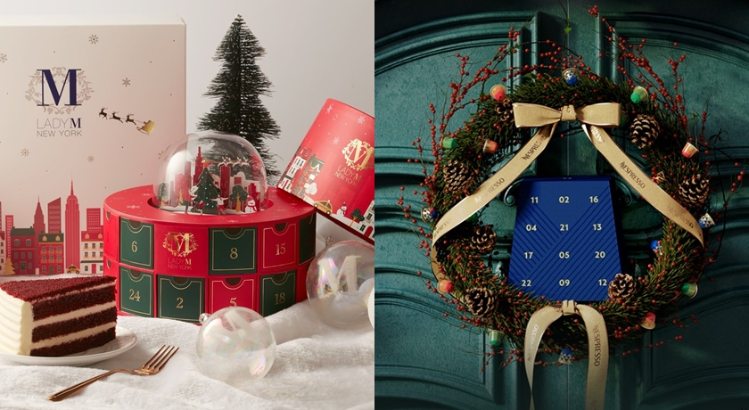 甜點巧克力、咖啡膠囊也出「耶誕倒數月曆」!絕美水晶球帶來浪漫驚喜
