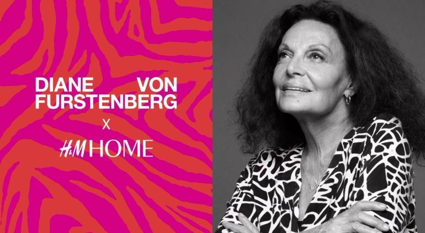 王妃設計師操刀!H&M聯手Diane Von Furstenberg推家居系列
