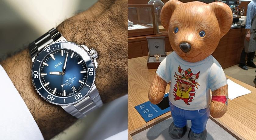 把手錶翻過來秒被可愛到!齒輪零件竟排成超萌「熊熊輪廓」