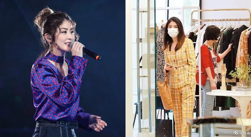 48歲陳慧琳私下「逛大街」被拍到!網驚嘆:根本20歲小姑娘