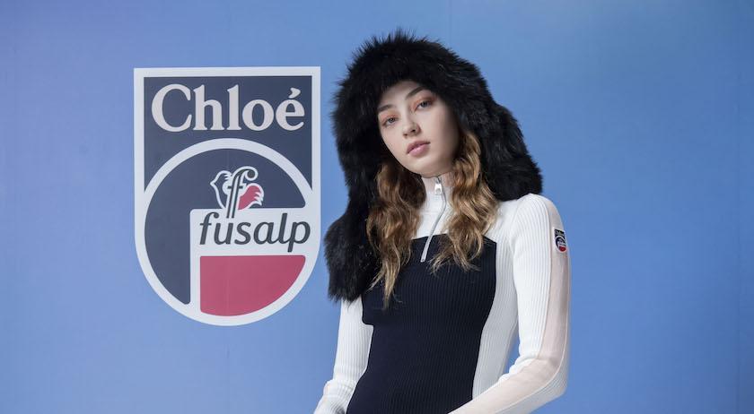 根本看不出是運動服!Chloé滑雪系列時髦、保暖還「超級修身」